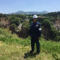 熊本地震視察①